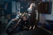Ikuistettu.fi - PinUp kuvaukset moottoripyöräkerholla